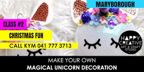 Unicorn Christmas Decorations - PM CLASS tickets