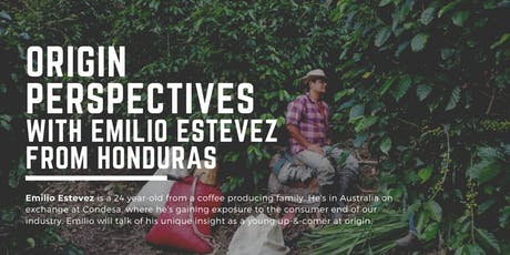 Origin Perspectives with Emilio Estevez from Honduras tickets