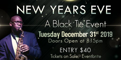 New Years Eve Black Tie Event