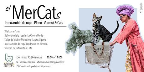 El MerCats: Intercambio de ropa, Piano, Vermut & Cats entradas