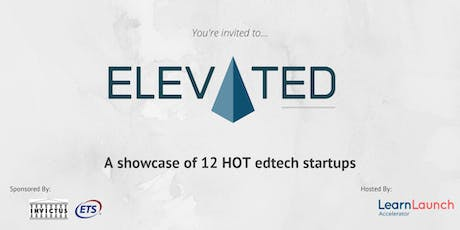 ElevatED: LearnLaunch Accelerator's Edtech Demo Day tickets