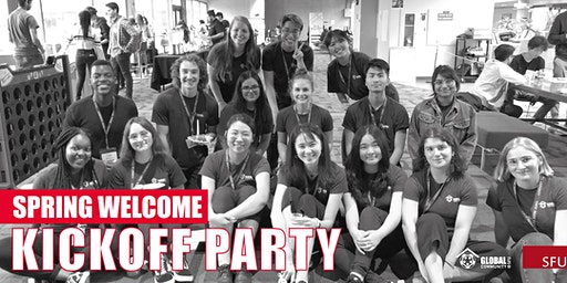 Spring Welcome Kickoff Party