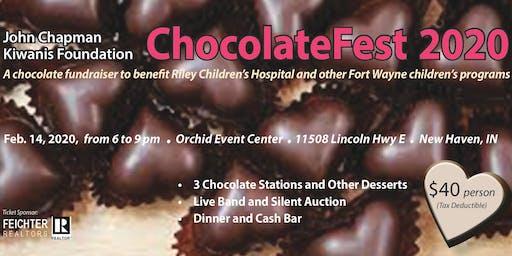 Fort Wayne ChocolateFest 2020 - Kiwanis Club of John Chapman Foundation