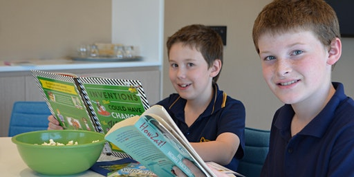 Book Busters @ Cultural Centre Library
