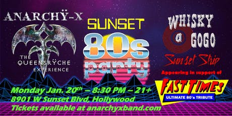 Anarchy-X rocks the Whisky A Go-Go! tickets