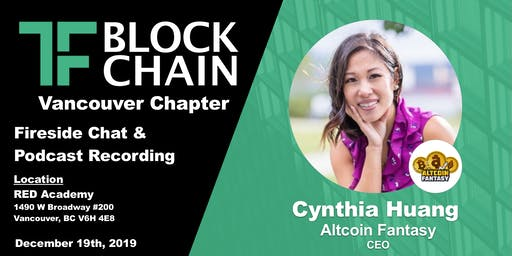 Role of small, medium and big companies in shaping the future of Blockchain on a global scale | TF Block YVR | December 19, 2019
