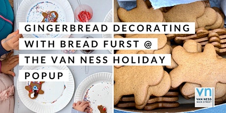 Gingerbread Decorating with Bread Furst tickets