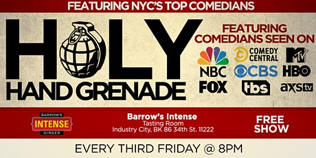 Holy Hand Grenade Free Comedy Show tickets