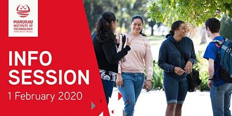 Manukau Institute of Technology Info Session 2020 tickets