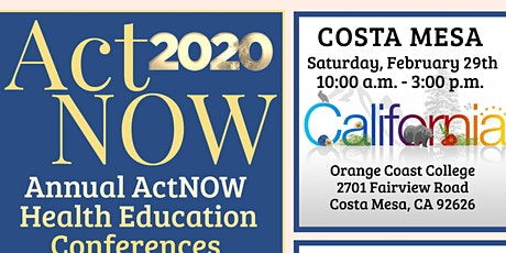 2020 ActNOW OC Health Education Conference tickets