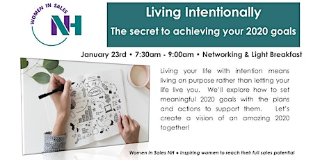 Living Intentionally:The secret to achieving your 2020 goals tickets