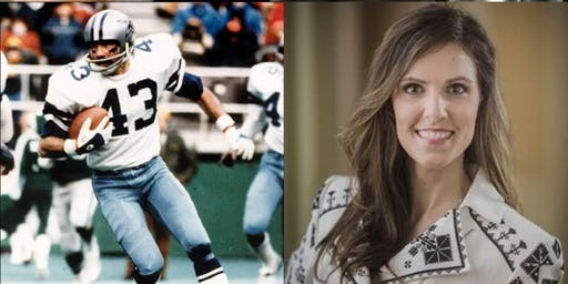 Drew Pearson Live w/ #43 Super Bowl Champion Cliff Harris & Taya Kyle Red Carpet Taping Event