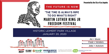 2020 Martin Luther King Jr. Freedom Festival in South LA tickets