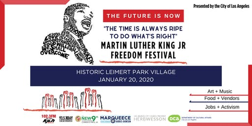 2020 Martin Luther King Jr. Freedom Festival in South LA