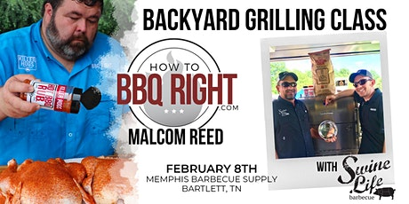 HowToBBQRight Backyard Grilling Class tickets