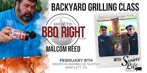 SOLD OUT - HowToBBQRight Backyard Grilling Class