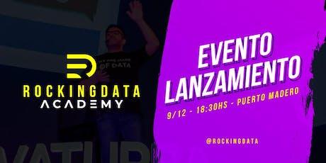 Lanzamiento RockingData Academy! entradas