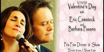 Eric Comstock and Barbara Fasano - Valentine's Day Show 9:00 pm