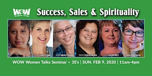 WOW Women Talks Seminar • 3S's