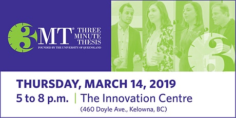 UBC Okanagan - Three Minute Thesis (3MT) Final 2020 tickets