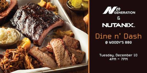 Dine N' Dash: With Nth Generation & Nutanix @ Woody's BBQ