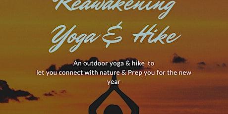 Reawakening Yoga & Hike tickets
