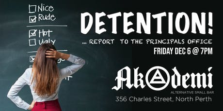 DETENTION! tickets
