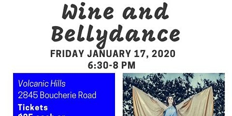 Wine and Bellydance tickets