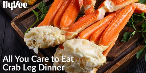 All You Care to Eat Crab Leg Dinner