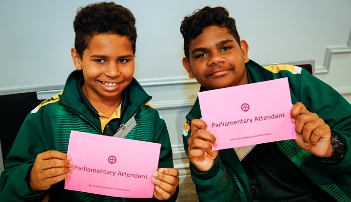 Junior Indigenous Youth Parliament - Townsville 2021 image