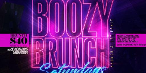 Boozy Brunch Saturdays at Havana Cafe