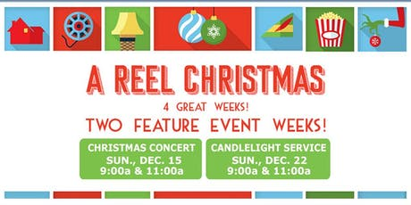A Reel Christmas tickets