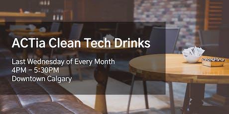 ACTia Clean Tech Drinks - Calgary Social tickets