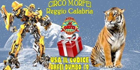 Il Circo M.Orfei a Reggio Calabria, sconti famiglia biglietti
