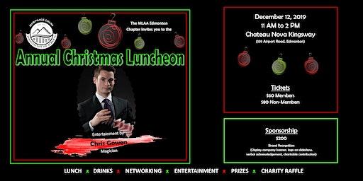 Mortgage Loans Association of Alberta (MLAA)  Christmas luncheon