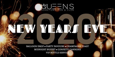 QUEENS Hometown Pub New Year's Eve 2020 tickets