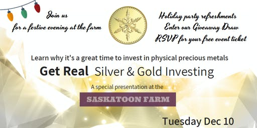 Get Real - Silver & Gold Bullion Investing - Dec 10