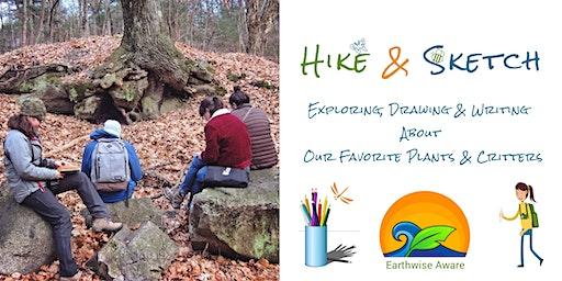 Hike & Sketch at Fresh Pond