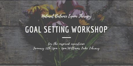 Goal Setting Workshop: for the Inspired Equestrian tickets