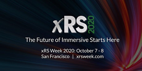 xRS Week 2020 | Virtual & Augmented Reality Strategy Conference & Expo tickets