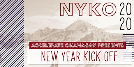 Accelerate Okanagan Presents New Year Kick Off 2020 tickets