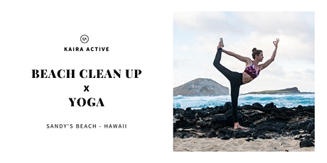 Beach Clean Up & Yoga with Kaira Active tickets
