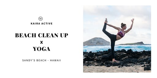 Beach Clean Up & Yoga with Kaira Active