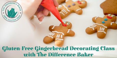 Gluten-Free Gingerbread Decorating Class for Kids with The Difference Baker tickets