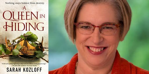"Sarah Kozloff- ""A Queen in Hiding (The Nine Realms, Book 1)"""
