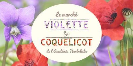 Marché Violette & Coquelicot billets