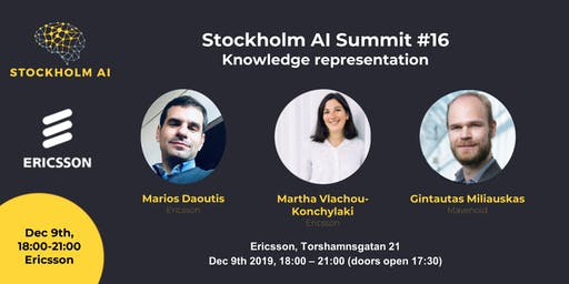 Stockholm AI Summit - Knowledge Representation @ Ericsson