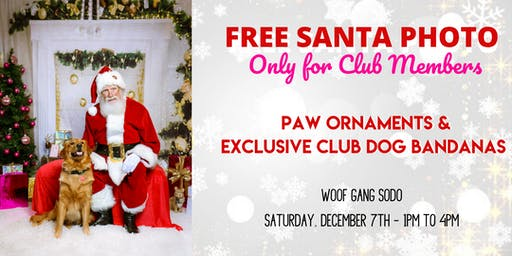 One Free Santa Photo! Exclusively for ODMC Members