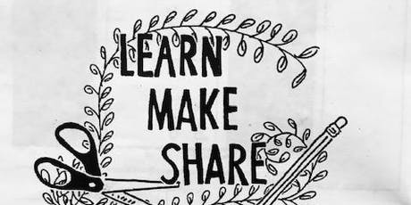 Learn Make Share: Mini Zines tickets