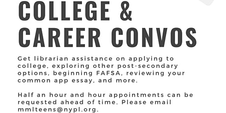College & Career Conversations tickets